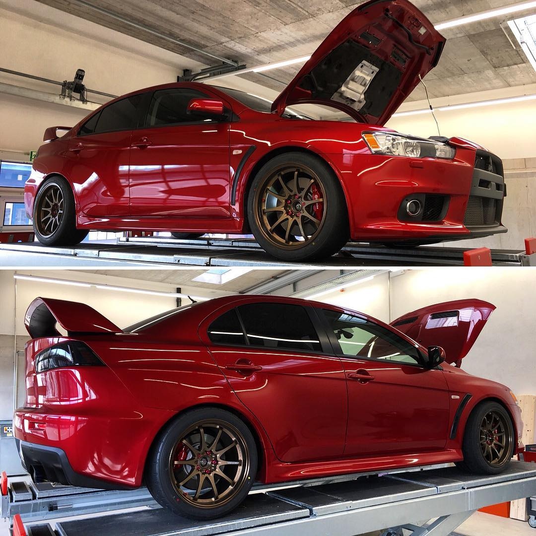 Lancer Evo EditionSchmid P26